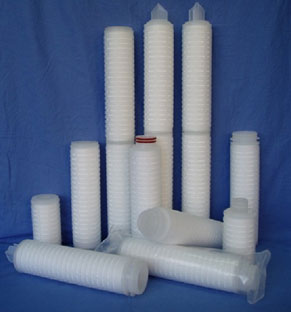 PP-Pleated-filter-cartridge